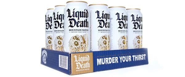 Product News – The joke is on consumers as Liquid Death raises $23 million more
